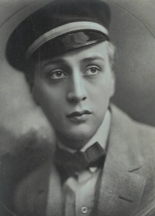 Йёста Экман в роли Карла Хенрика («Старый Гейдельберг», 1927)