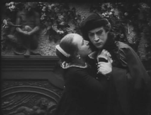 Йёста Экман и Йенни Хассельквист в фильме «Кто судит» (реж. Виктор Шёстрём, 1922)