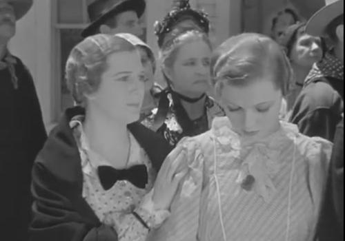 С Мюриэл Эванс в фильме «Новый фронтир» (1935, реж. К. Пирсон)