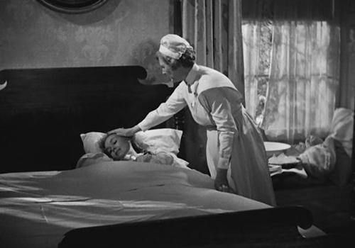 С Мэри Андерсон в фильме «Каждому своё» (1946, реж. М. Лейзен)