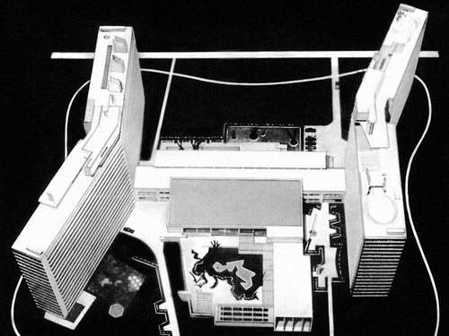 Жилой комплекс «Дом нового быта» на улице Шверника. Арх. Натан Остерман, 1965—1971