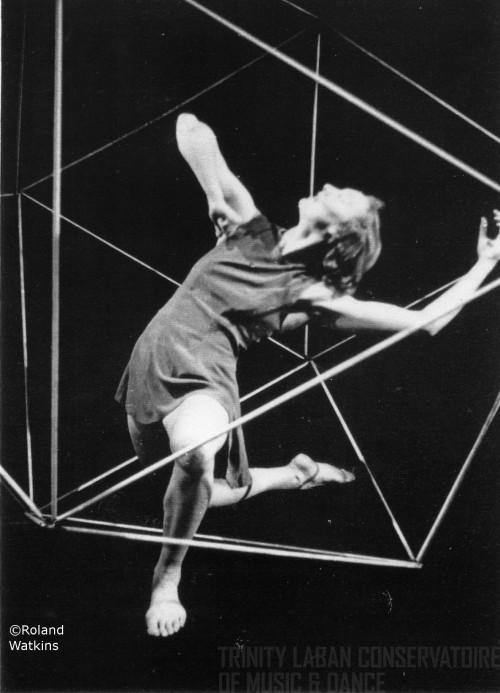 Джеральдина Стивенсон викосаэдре фон Лабана, 1947год
