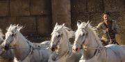 «Бен-Гур»: Лошадь белая