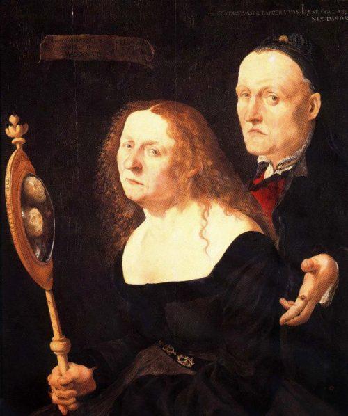 «Художник Ганс Бургмайер и его жена Анна». Худ. Лукас Фуртенагель. 1529