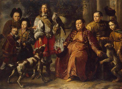 «Семейный портрет». Худ. Даниэль Шульц Младший. 1664