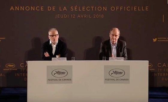 Объявлена конкурсная программа Каннского кинофестиваля 2018