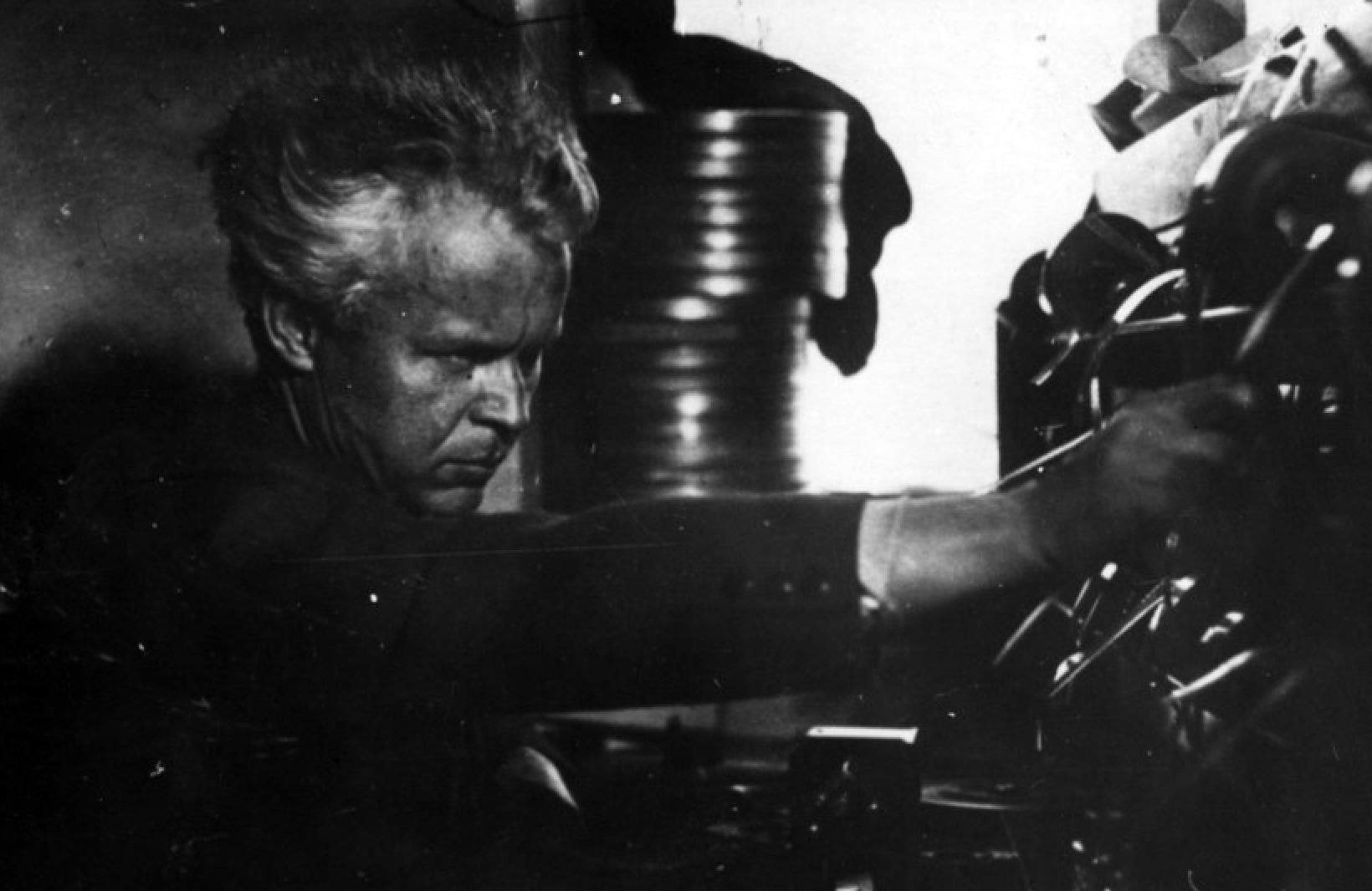 Александр Довженко на съёмках «Щорса». Фото: Музей Национальной киностудии имени Александра Довженко