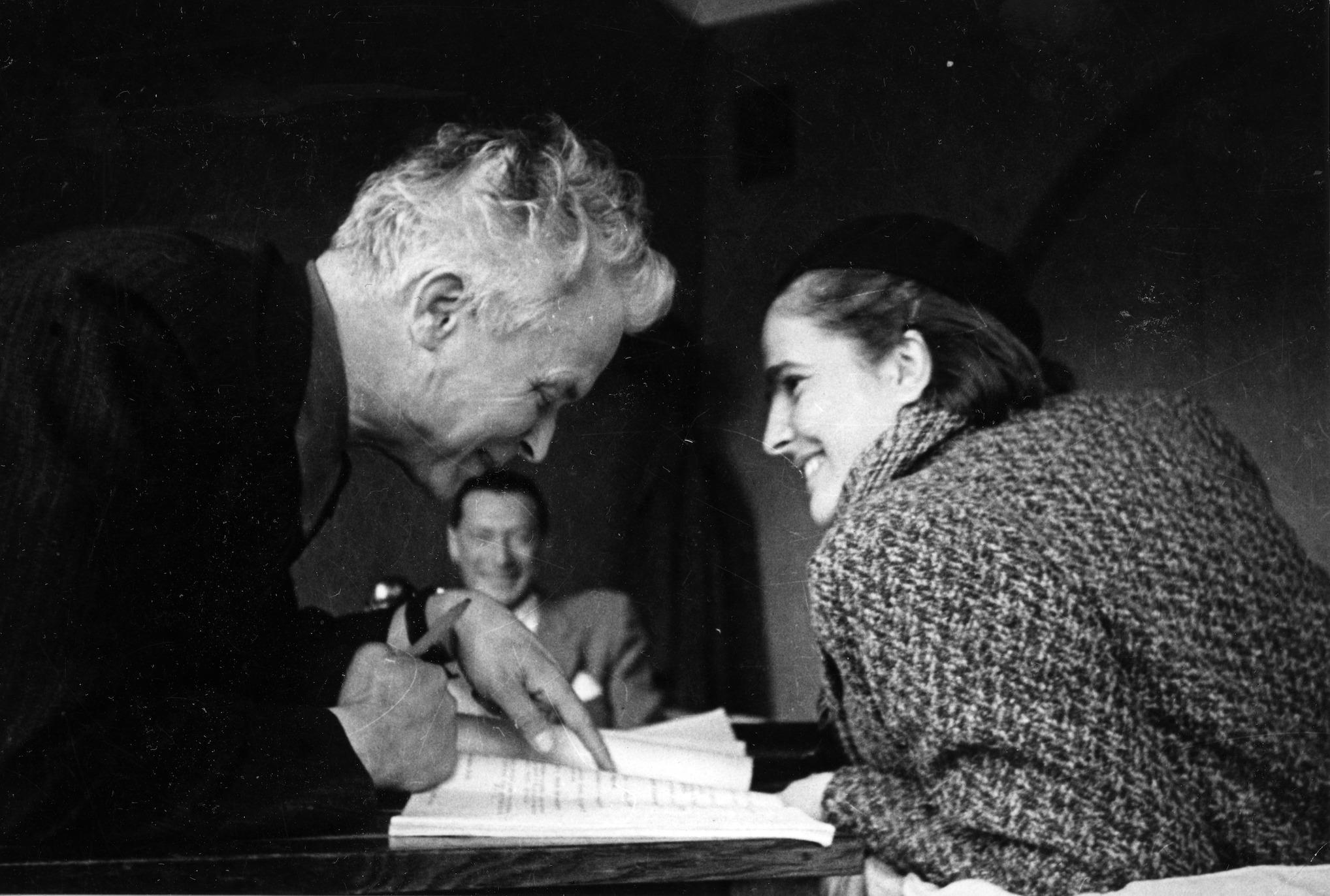 Александр Довженко и Юлия Солнцева. Фото: Музей Национальной киностудии имени Александра Довженко