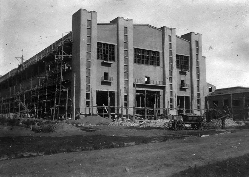 Киевская кинофабрика ВУФКУ. 1928.