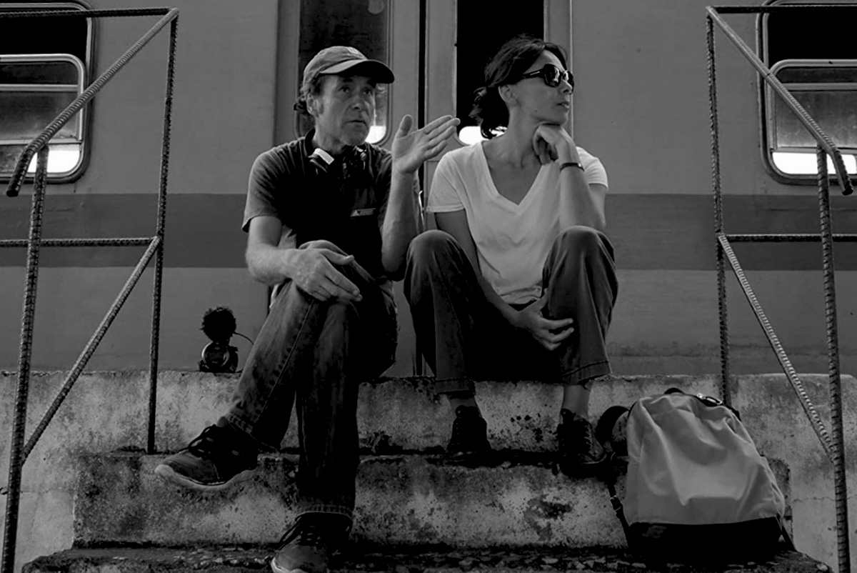 Хуберт Саупер на съемках фильма «Эпицентр». 2020