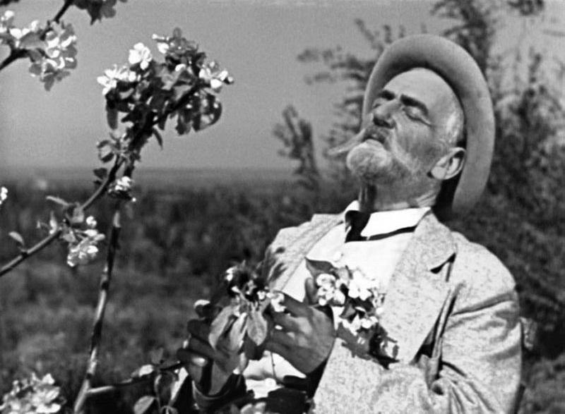 «Мичурин». Реж. Александр Довженко. 1948